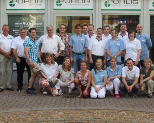 Aktion Bewegung hilft- Informationstag Prothetik bei Pohlig Orthopädie-Technik in Nürnberg in Kooperation mit dem Bundesverband für Menschen mit Arm oder Beinamputationen e.V., 14.08.2012