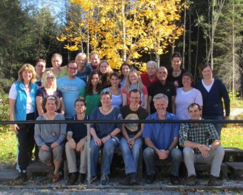 Physiotherapeuten, Ergotherapeuten und Orthopädietechniker zum Gehschulseminar (Aufbaukurs) im Fortbildungszentrum Fachklinik Enzensberg , Oktober 2012